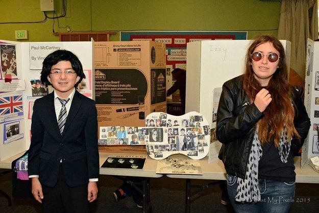 The Beatles!: Vincent Ghio as Paul McCartney and Tyla Elsen-Hecht as John Lennon