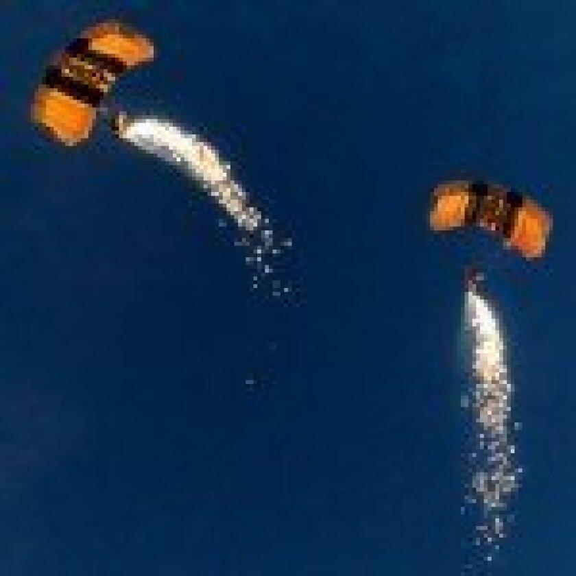 U.S. Army 'Golden Knights' parachute team