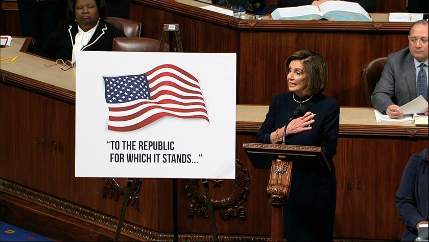 Pelosi speaks about impeachment