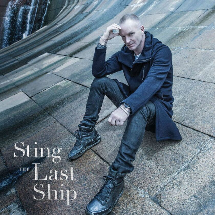 """The album cover from Sting's upcoming """"The Last Ship."""""""