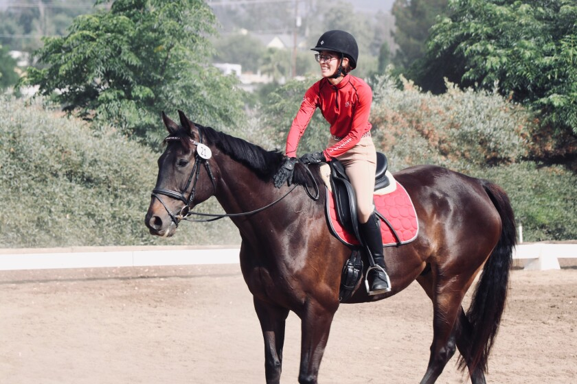 Taylor Nugent, in her first show on Hercules, placed 1st and 2nd in their first show.