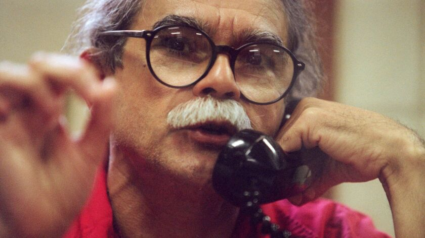 Puerto Rican militant Oscar Lopez Rivera during a 1998 interview at the Marion Federal Penitentiary