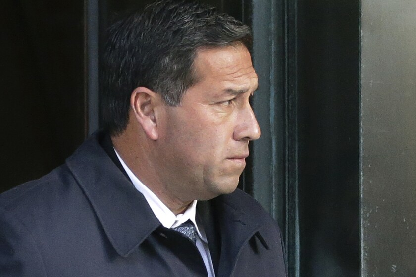 Jorge Salcedo, pleaded guilty to accepting bribes to help get two students admitted to UCLA as bogus soccer recruits.