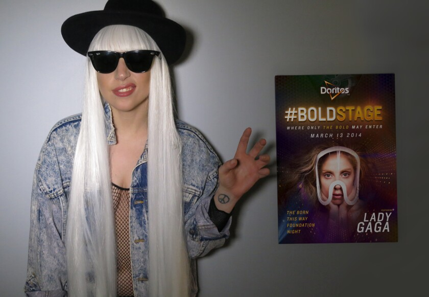 Lady Gaga will headline a Doritos-sponsored performance lineup next week at South by Southwest in Austin, Texas.