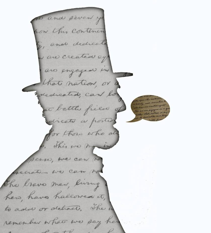 Abraham Lincoln's Gettysburg Address, which is 150 years old on Nov. 19, shows the power of the well-chosen word.