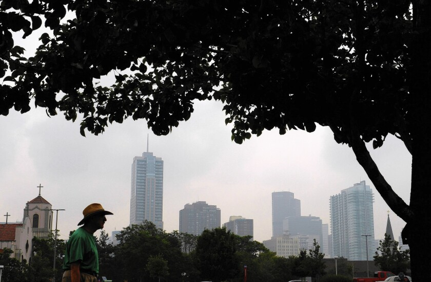 Smoke from Canadian wildfires has lingered over Denver and much of Colorado.