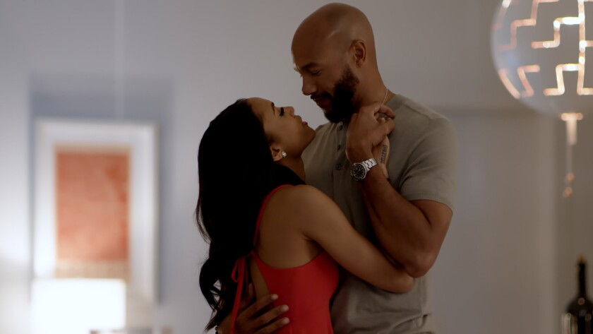 Stephen Bishop (as Michael Roland) and Annie Ilonzeh (as Madison Roland) in Footage Films and Novus