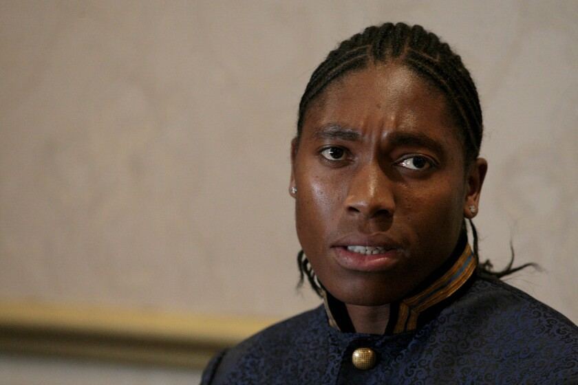 Caster Semenya addresses women's conference in South Africa