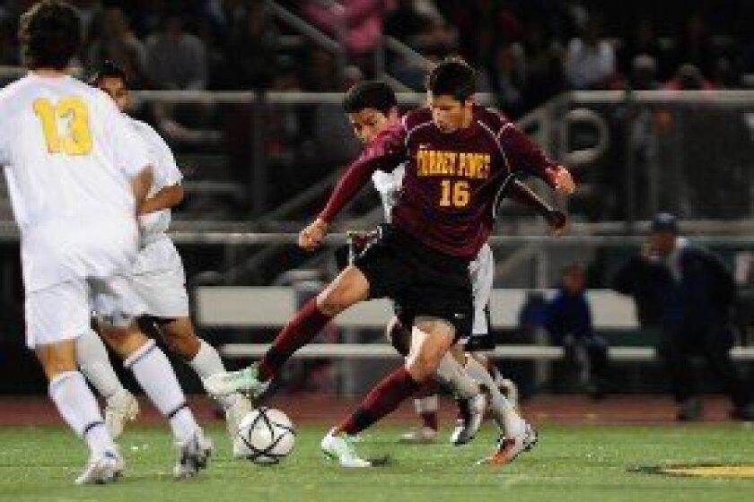 Garrett Heine in action on the field.