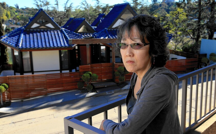 In Silver Lake, Jane Taguchi, who has complained that the house across the street is being rented out, worries about the changing feel of the neighborhood.