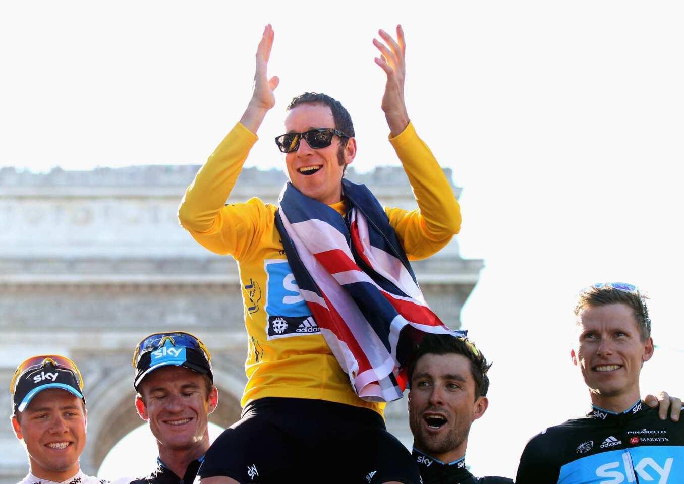 Tour de France 2012 win