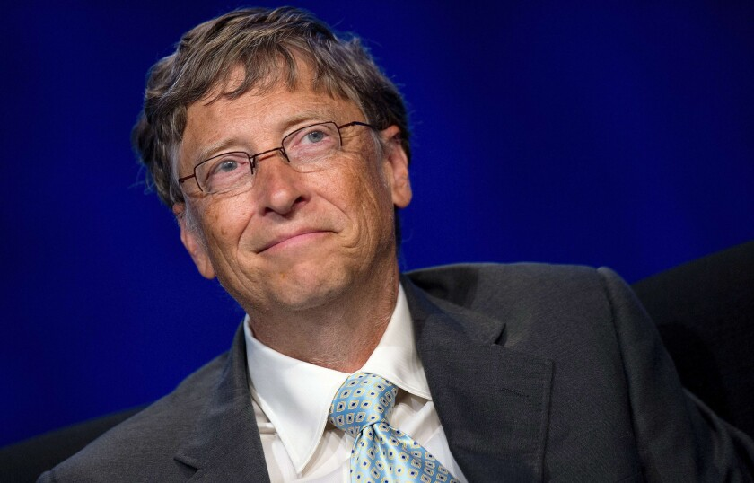 Bill Gates is worried that too many people believe that foreign aid is a waste of taxpayers' money.