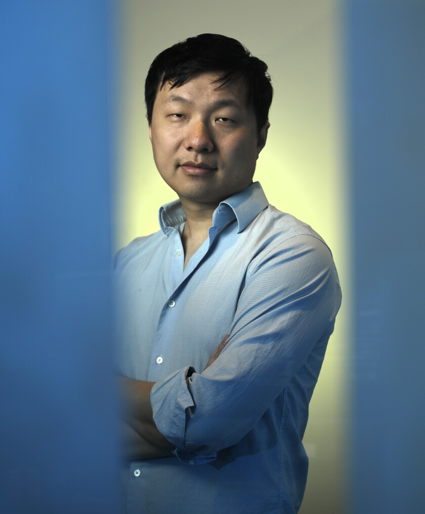 """Jenova Chen is the creative director of """"Sky: Children of the Light,"""" a new video game from thatgamecompany."""