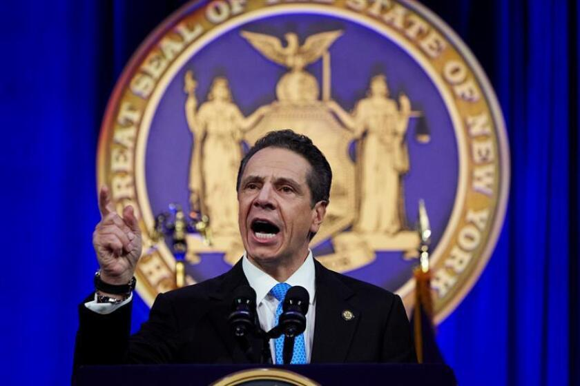 New York State Governor Andrew Cuomo. EFE/EPA/FILE