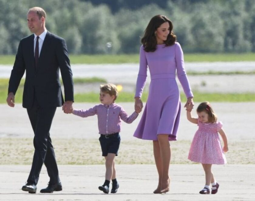 reino unido el principe william y kate middleton esperan un tercer bebe hoy los angeles william y kate middleton esperan