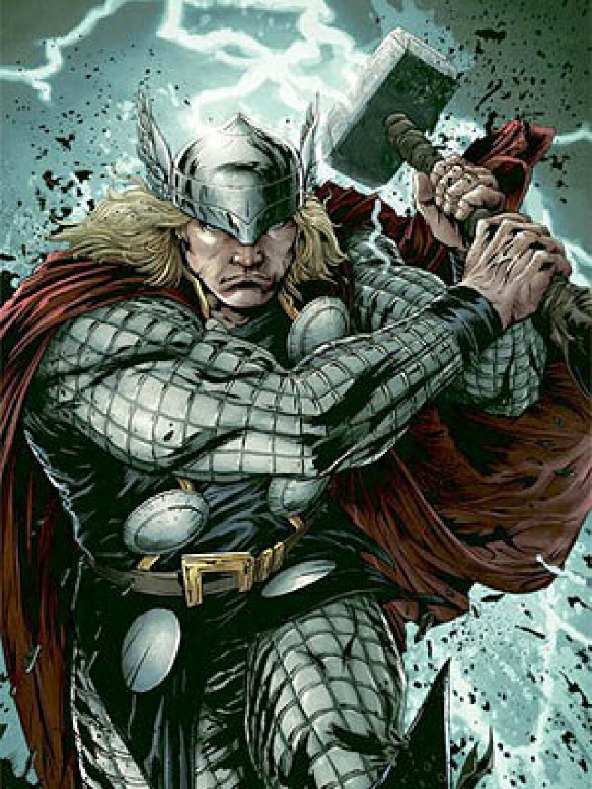 Marvel's Thor, whose Asgardian universe was explained in a series of comic books in 1980 (told in flashback, with plot points taken directly from all four of Wagner's Ring cycle operas), is expected to be transformed into a big-screen feature in 2011, with Kenneth Branagh directing.