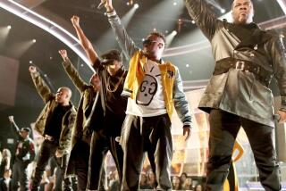 Four moments when stars got political on stage at the Grammy Awards