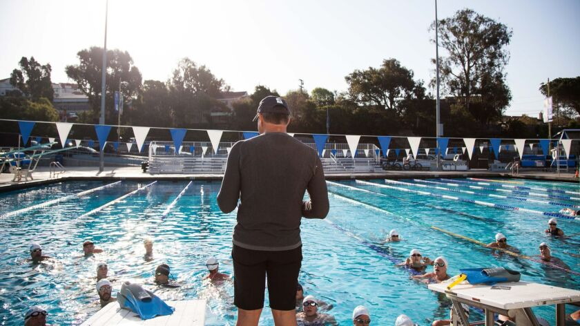 Pool - Lessons for swim fitness are now available at the newly-opened El Segundo Aquatics Center. C