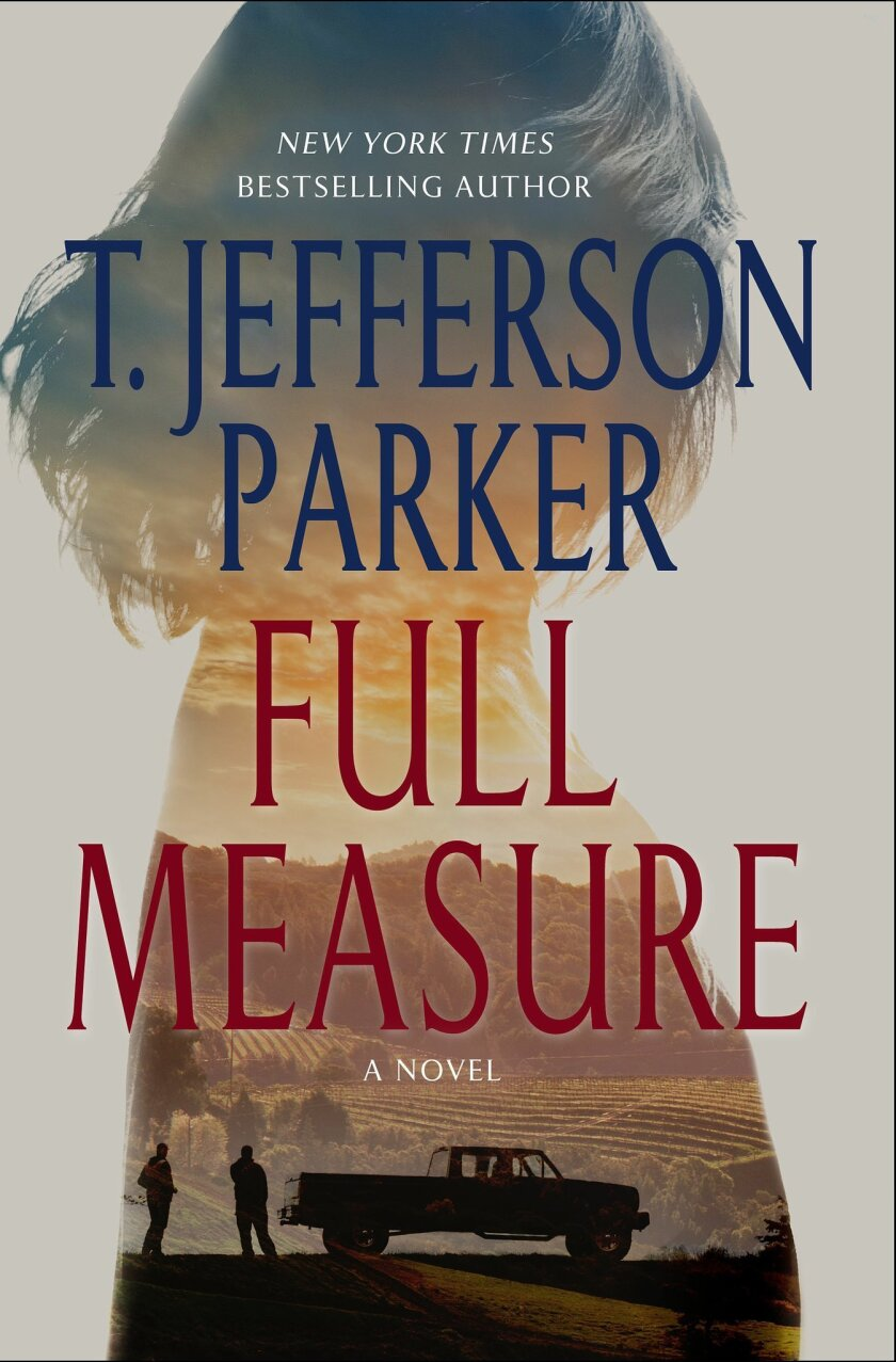 "This book cover image released by St. Martin's Press shows ""Full Measure,"" by T. Jefferson Parker. (AP Photo/St. Martin's Press)"