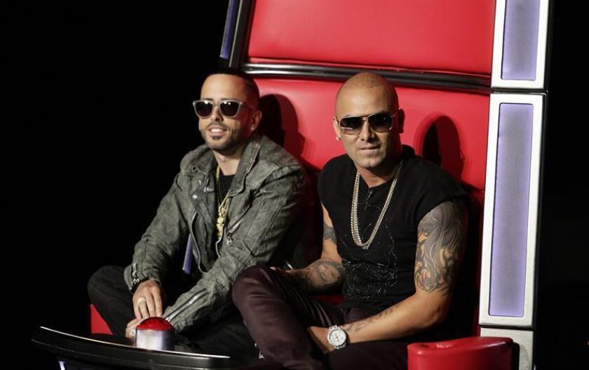 El dúo Wisin y Yandel darán un concierto más en San Juan, Puerto Rico. EFE/Archivo