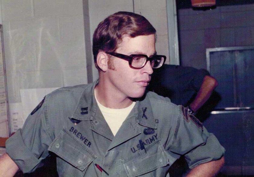 DA candidate Bob Brewer served in the U.S. Army in Vietnam.