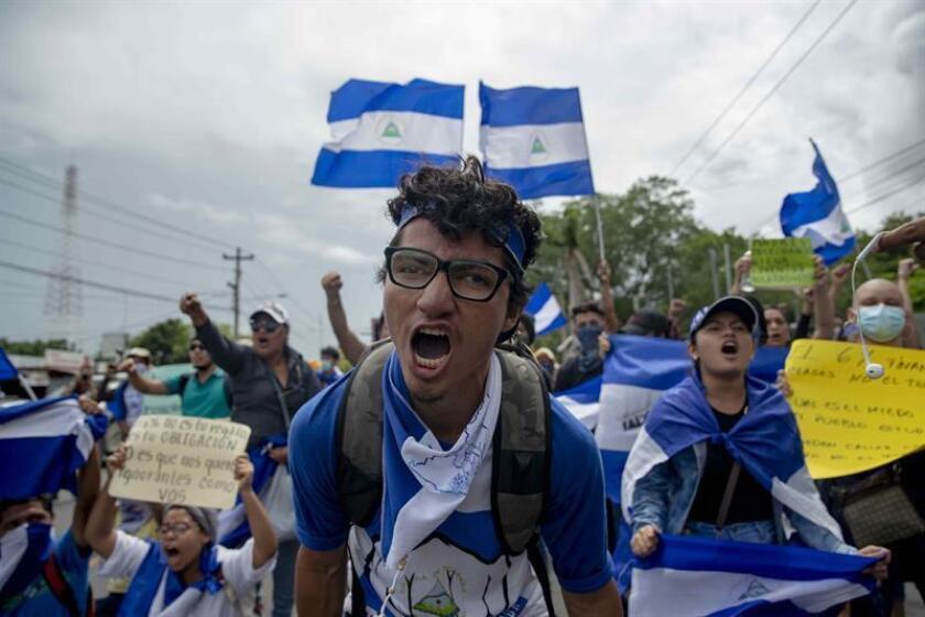 """El alto comisionado de la ONU para los Derechos Humanos, Zeid Ra'ad al Hussein, alertó hoy ante las """"redadas"""" que se están llevando a cabo en Nicaragua y ante la persecución judicial a la que se enfrentan los estudiantes que participan en las protestas. EFE/ARCHIVO"""