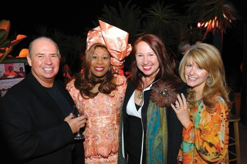 Michael Nitti, Dr. Emma Jean Thompson,  Susan Bradley, Julie Nitti. Photos by Jon Clark
