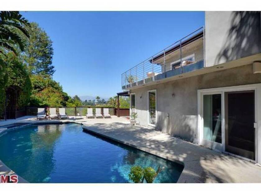 Actress Tricia Helfer sells Hollywood Hills West home