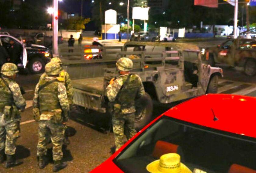 El ataque armado ocurrió a pesar de la presencia de la Guardia Nacional, Policía Federal, Ejército Mexicano y la Policía Estatal.