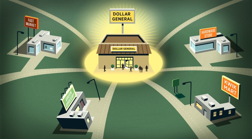 Dollar General throws a lifeline to hard-pressed communities