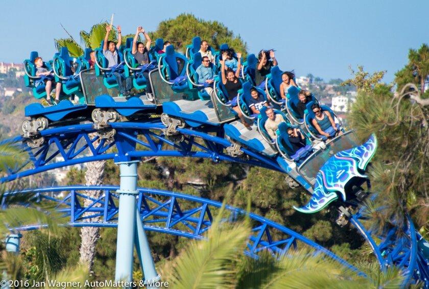 Manta roller coaster