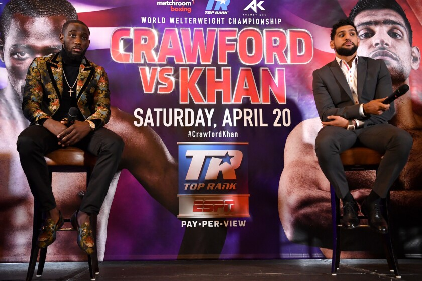 Terence Crawford and Amir Khan Press Conference