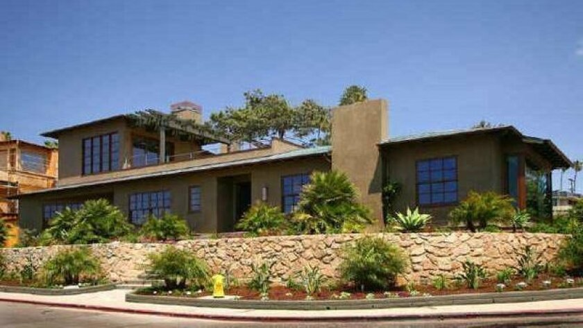 This La Jolla home once owned by iconic American author Raymond Chandler recently sold for $6 million. Courtesy photo