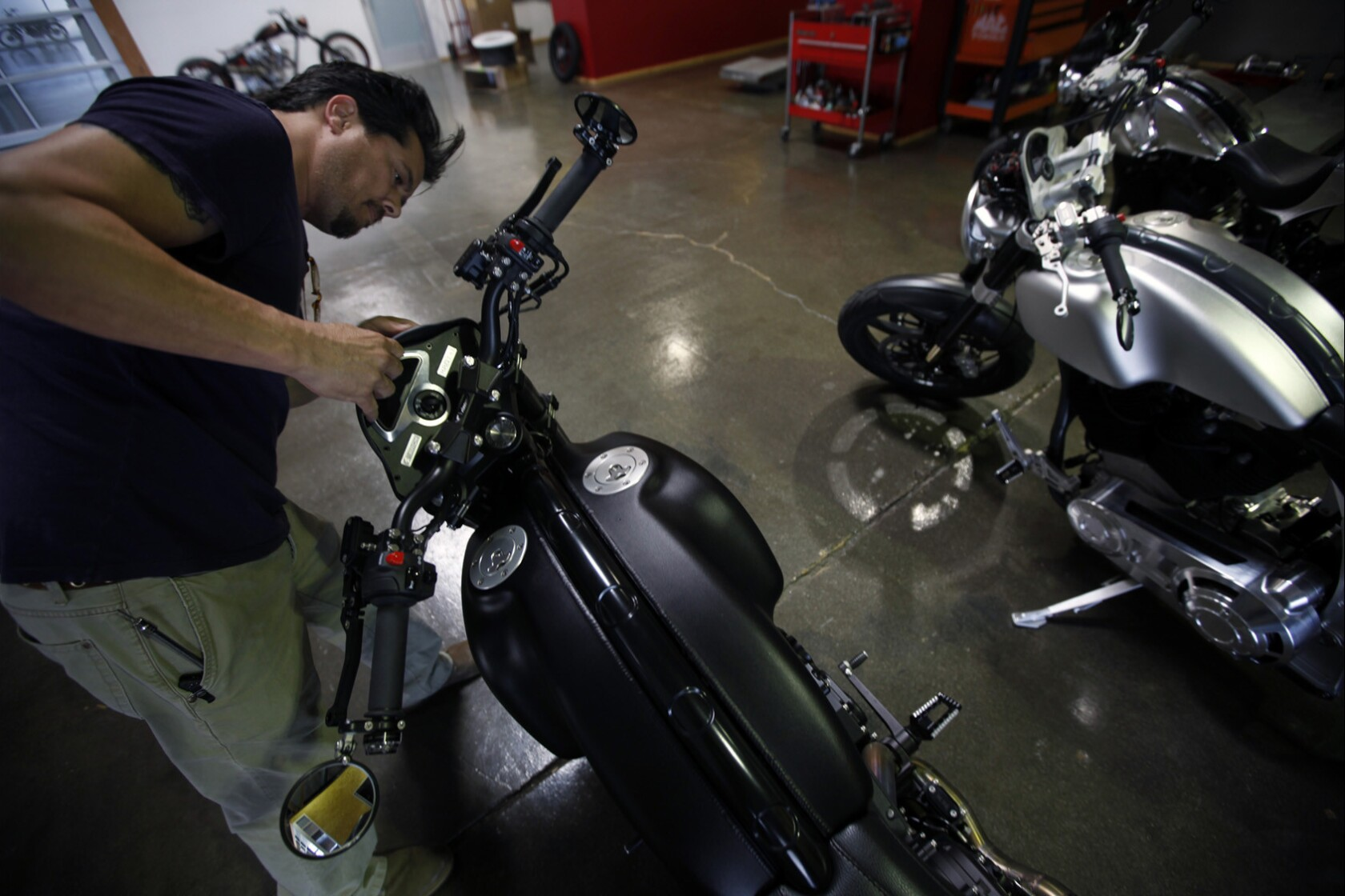 Keanu Reeves' latest production: line of $78,000 motorcycles