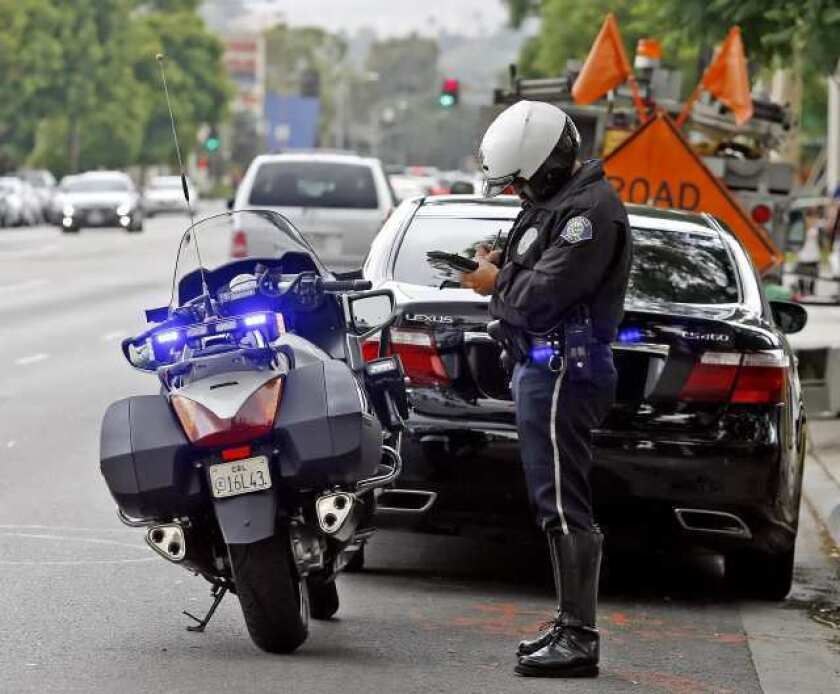 Parking officers issue more citations in 2012, but motor officers issue fewer