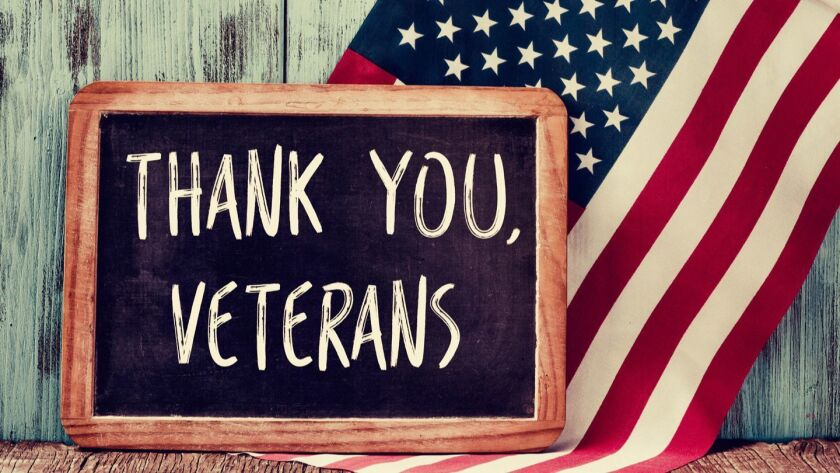 Rancho Bernardo Veterans Day ceremony to be held Sunday