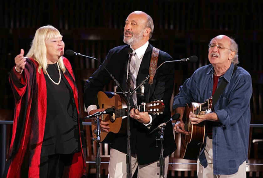 Peter, Paul and Mary in 2004