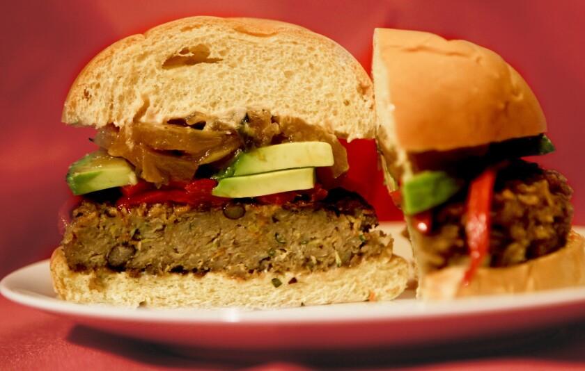Upper West's veggie burgers