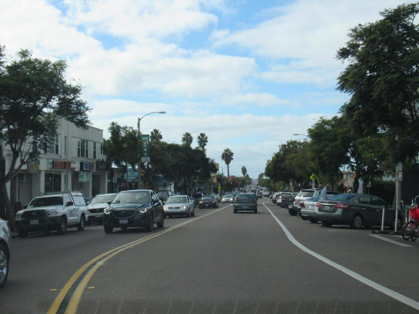 Beautiful PB will host the inaugural EcoDistrict Holiday Lane, 4-8 p.m. Friday, Dec. 14, 2018 along Garnet Avenue, from Ingraham Street to Mission Boulevard. Cars will be prohibited that day along its eight blocks and replaced by holiday shopping, street cafés, live music and art activities