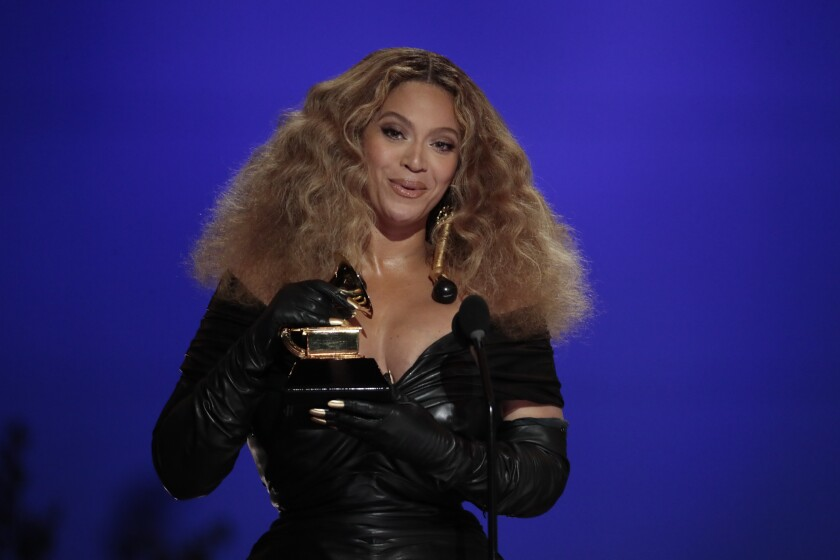 Grammys 2021: Beyonce, Megan Thee Stallion, Taylor Swift win - Los Angeles  Times