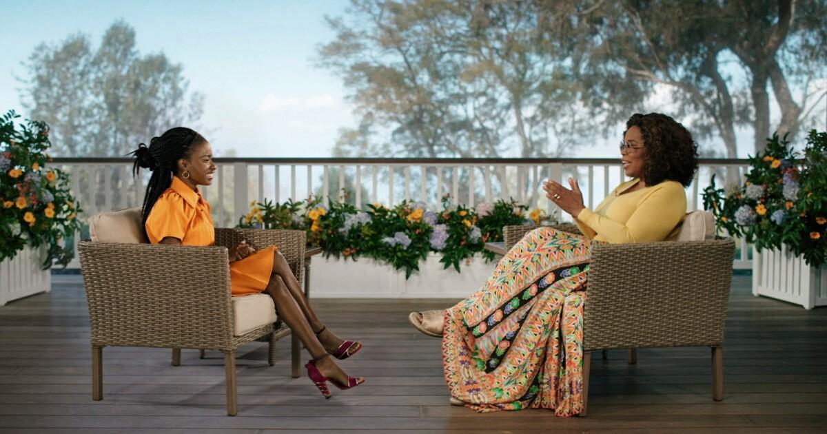 Oprah will interview Amanda Gorman on Apple TV + this week