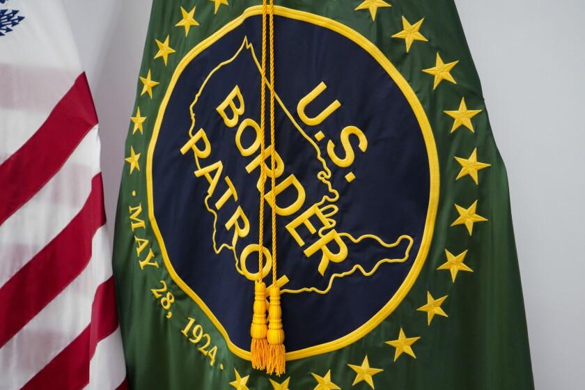 U.S. Border Patrol flag
