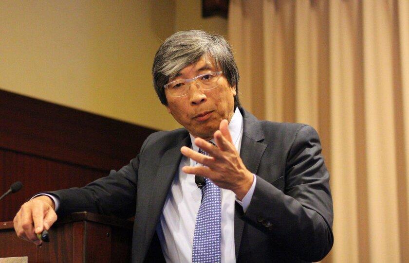 Biotech investor Patrick Soon-Shiong. Bradley Fikes photo