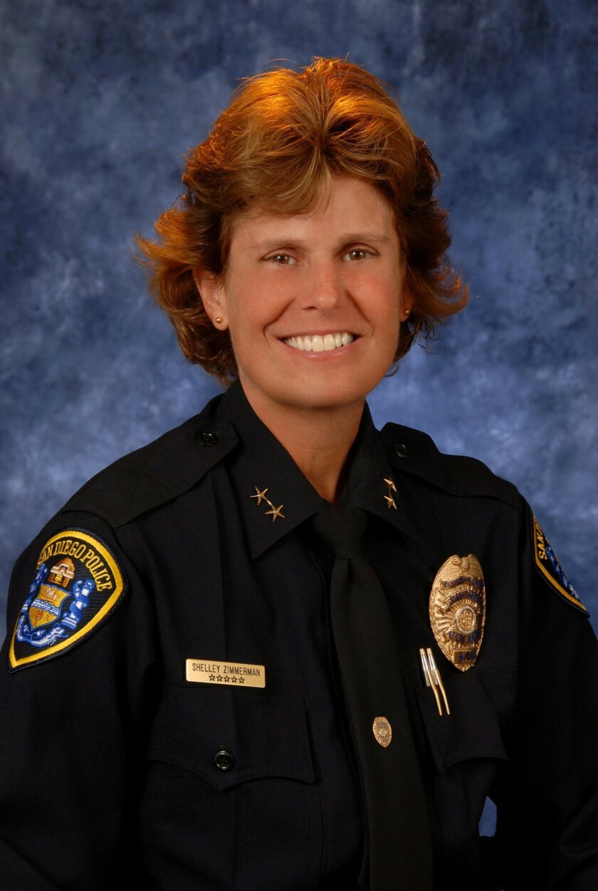 Shelley Zimmerman, assistant chief of the San Diego Police Department. Courtesy