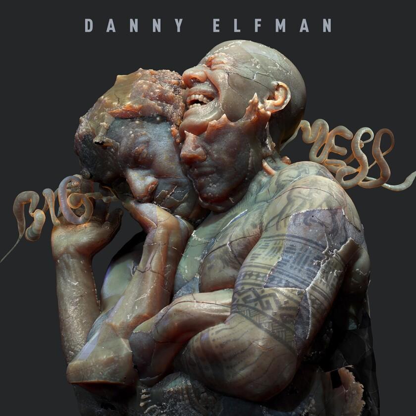 """En esta portada proporcionada por Anti- shows """"Big Mess"""" un álbum doble de 18 canciones de Danny Elfman."""