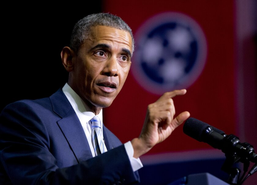 President Obama previewed his State of the Union address at a community college in Tennessee earlier this month.