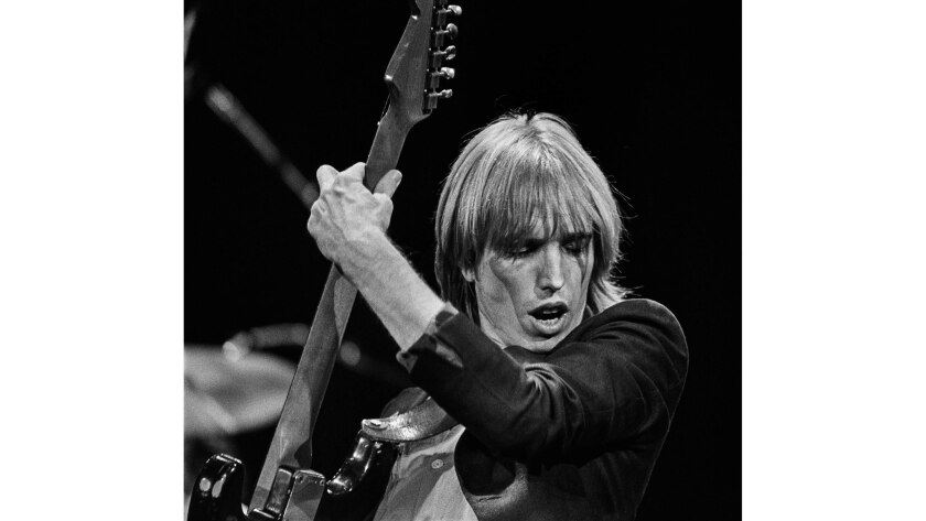 Jan. 20, 1980: Tom Petty during sold-out concert at the Inglewood Forum.