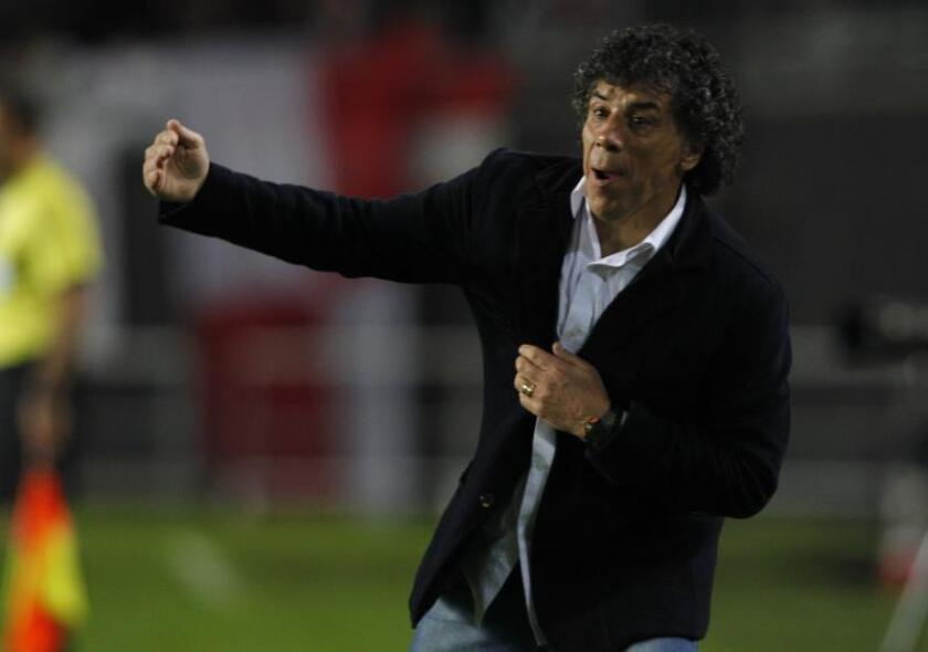 En la imagen, el argentino Víctor Hugo 'Copito' Andrada. EFE/Demián Estévez/Archivo