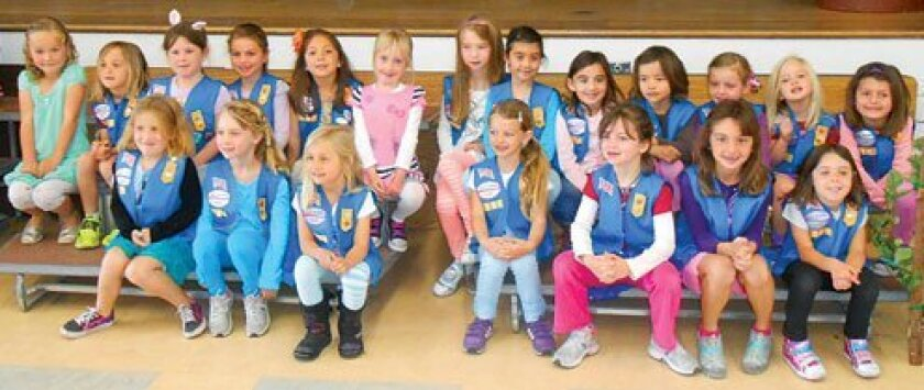 Girl Scout Daisy Troop 4186 (kindergartners)