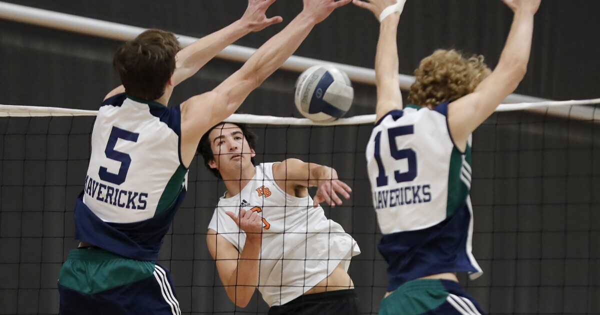 High School Roundup: Huntington Beach boys' volleyball exacts revenge at Santa Barbara
